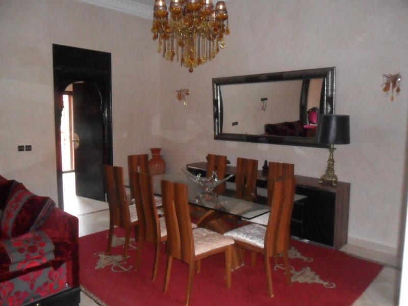 Siryne intercambia casa en morocco marruecos for Salle a manger atlas