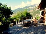 Hautes Alpes Panorama Montagne Calme Soleil