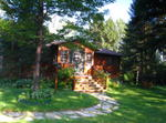 Beautiful Log House In Ontario