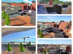Penthouse Apartment In The Middle With Roof Garden