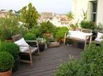 Provence-marseille : Jardin Sur Les Toits