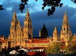 Santiago De Compostela Y La Costa De Galicia.