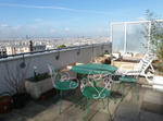 Flat With Large Balcony And View Of All Paris