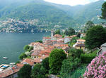 Como Lake, Blevio Village Under Brunate
